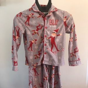 Christmas Elf Pajamas Set Sz 10